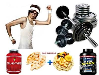 Los ectomorfos deben entrenar duro y comer bien para ganar músculo
