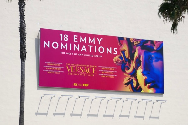 Assassination Versace 18 Emmy nominations billboard