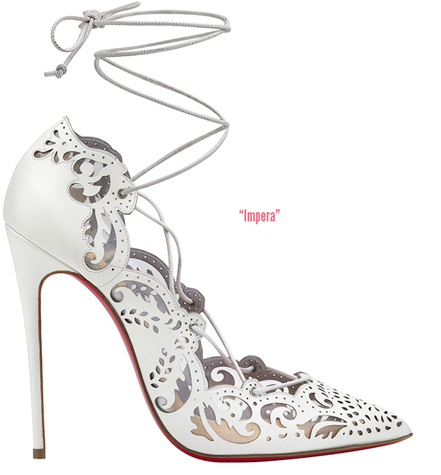 637ef3e2b67 But I love this Impera sandal from Christian Louboutin (for the Marchesa  runway)