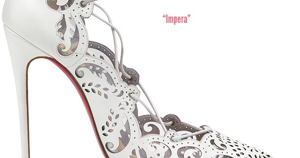 sale retailer ff9e5 defe7 Shoe Daydreams: Le Sigh - Christian Louboutin Impera in White