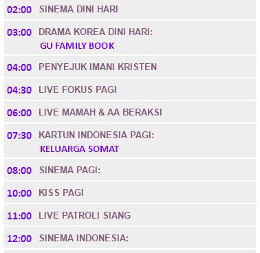 Siaran Televisi Indosiar