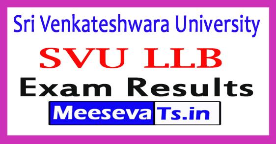 Sri Venkateshwara University LLB (3 / 5 YDC) Results 2017