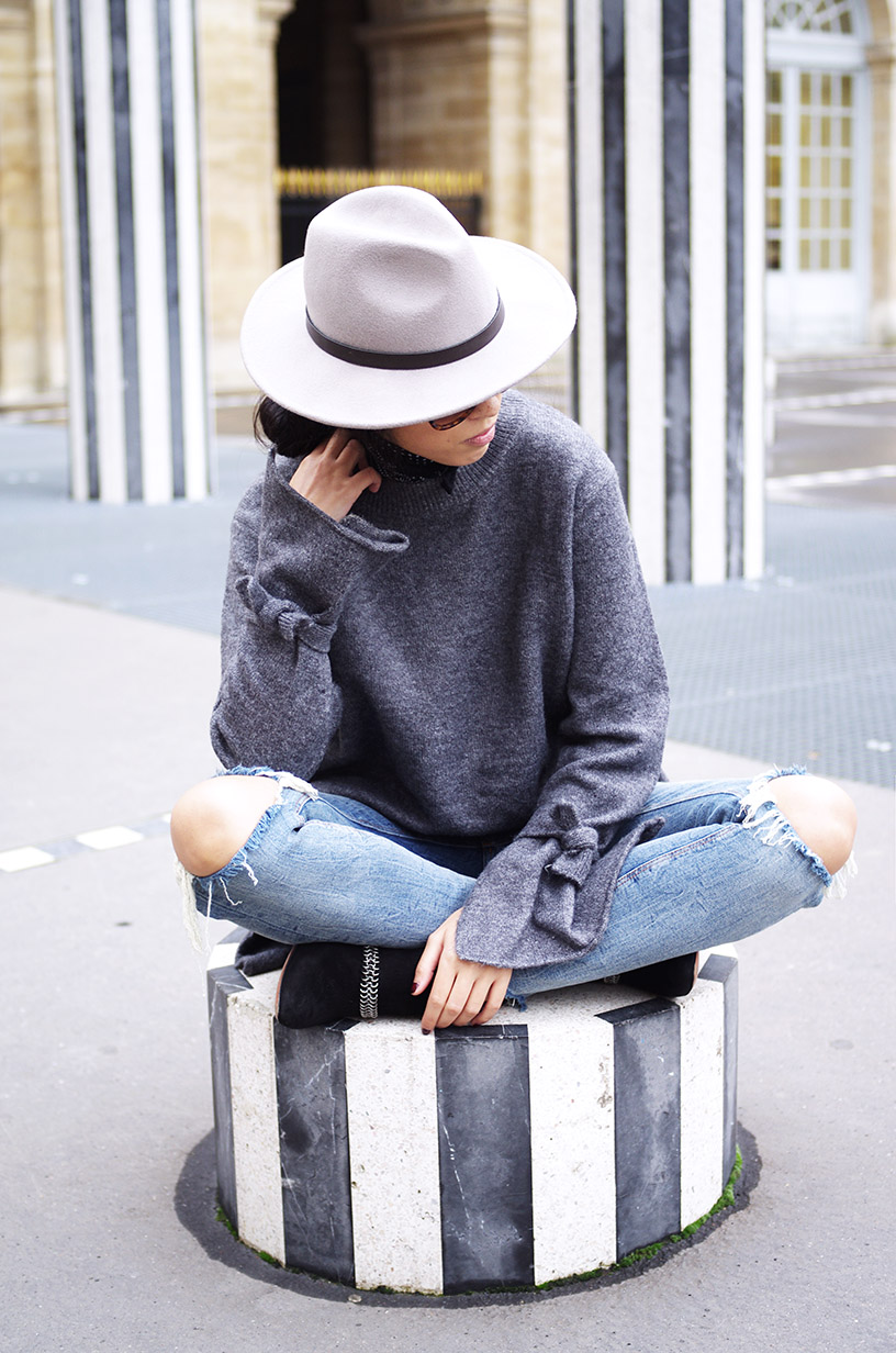Elizabeth l Ripped jeans outfit blog mode l Zara Asos Mango l THEDEETSONE l http://thedeetsone.blogspot.fr