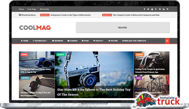 Cool Mag Blogger Template - Blogger Templates 2017 - Best Free ...