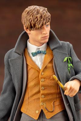 """Figuras: Imágenes del ARTFX+ Newt Scamander de """"Animales fantásticos y donde encontrarlos"""" - Kotobukiya"""