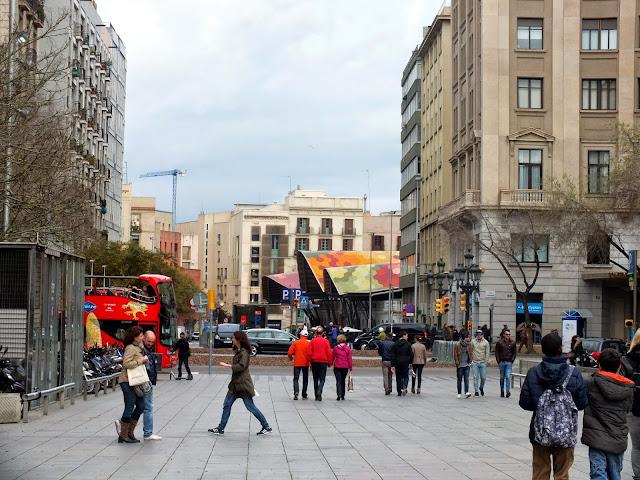 un paseo por el Born en Barcelona