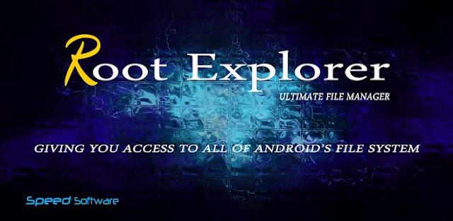 تطبيق Root Explorer v4.4.2 Apk للادارة الملفات مدفوع كامل للاندرويد logo