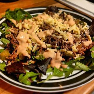 Big Mac in a Bowl recipe slimming world friendly
