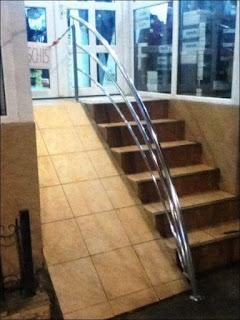 accesibilidad, rampa, empinada