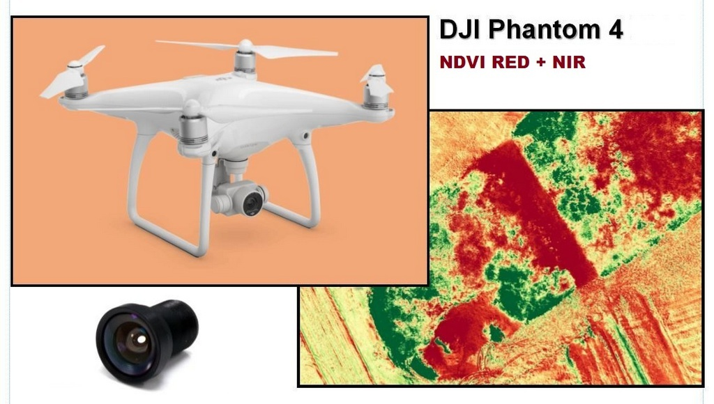 DJI Drone NDVI Camera Kit Applied to Farming | World Agriculture