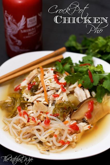 Crock Pot Chicken Pho Recipe - The Kitchen Wife