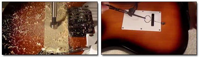 Instalación del Mecanismo Rolling Bender en Guitarra Eléctrica