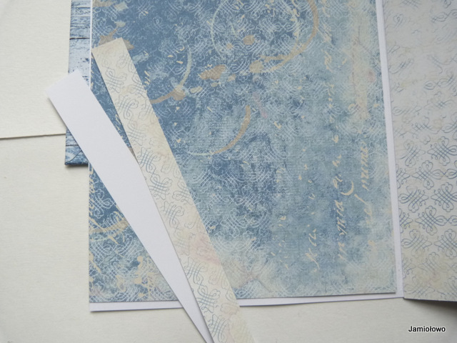 szykujemy papier na ozdobny pasek