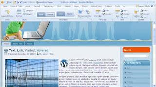 Sofware untuk membuat template bloger wordpress drupal dan lain lain