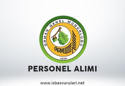 Orman Genel Müdürlüğü memur alımı