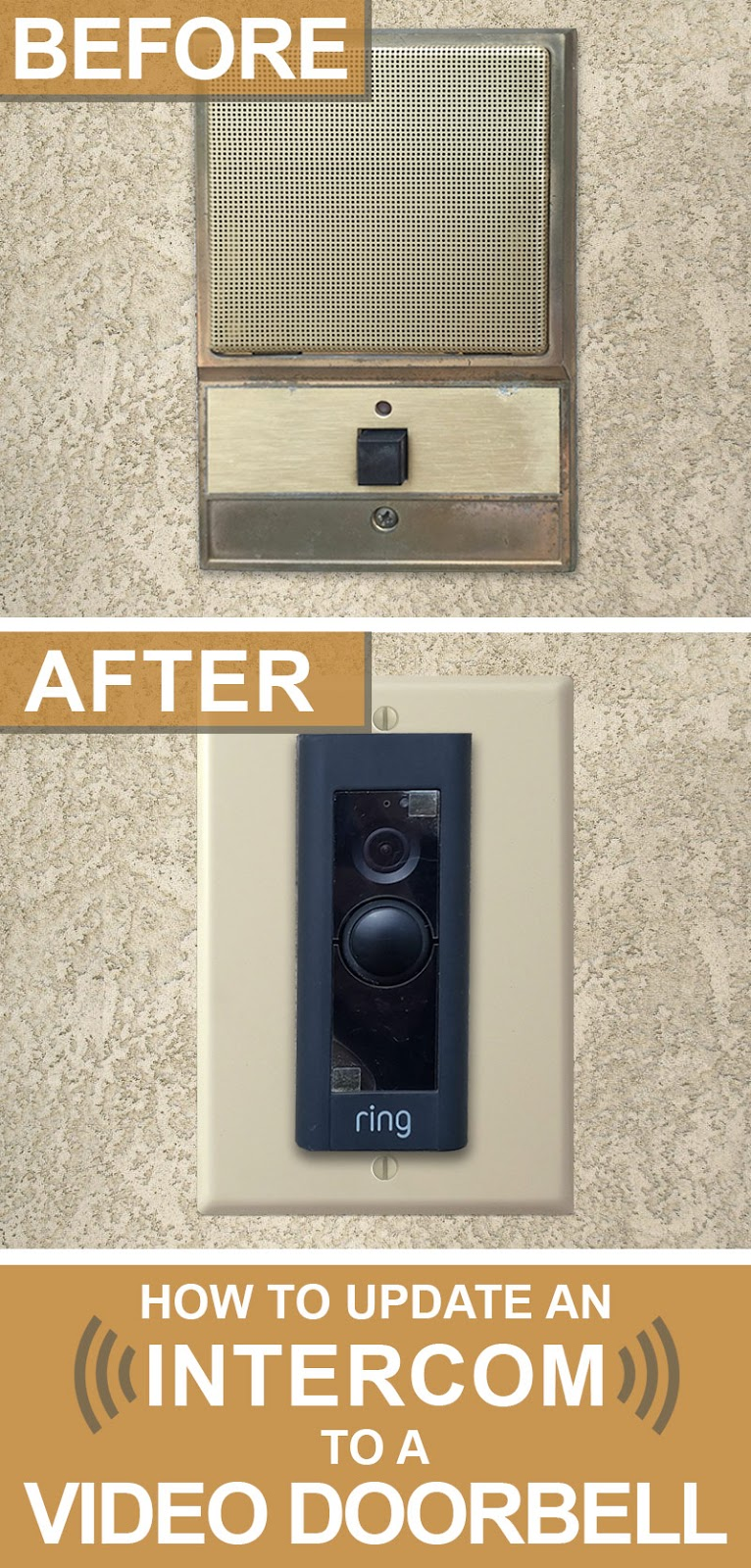 Intercom Cover Plate : intercom, cover, plate, Switch, Plates:, Update, Intercom, Video, Doorbell, These, Covers