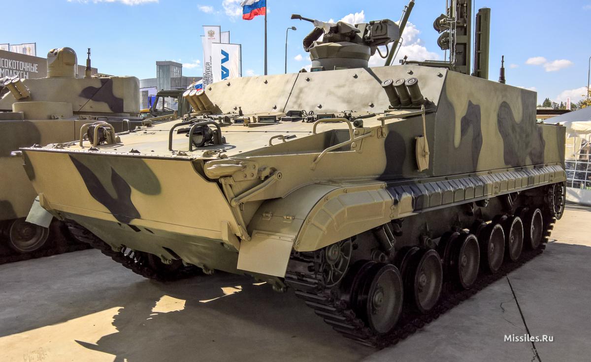 бронетранспортер БТ-3Ф на базі БМП-3