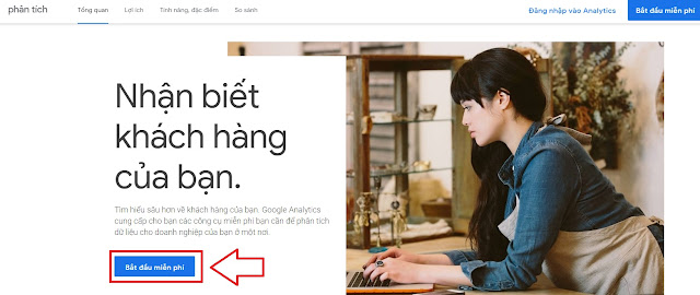 Hướng dẫn cài đăng ký và cài đặt Google Analytic cho website của bạn