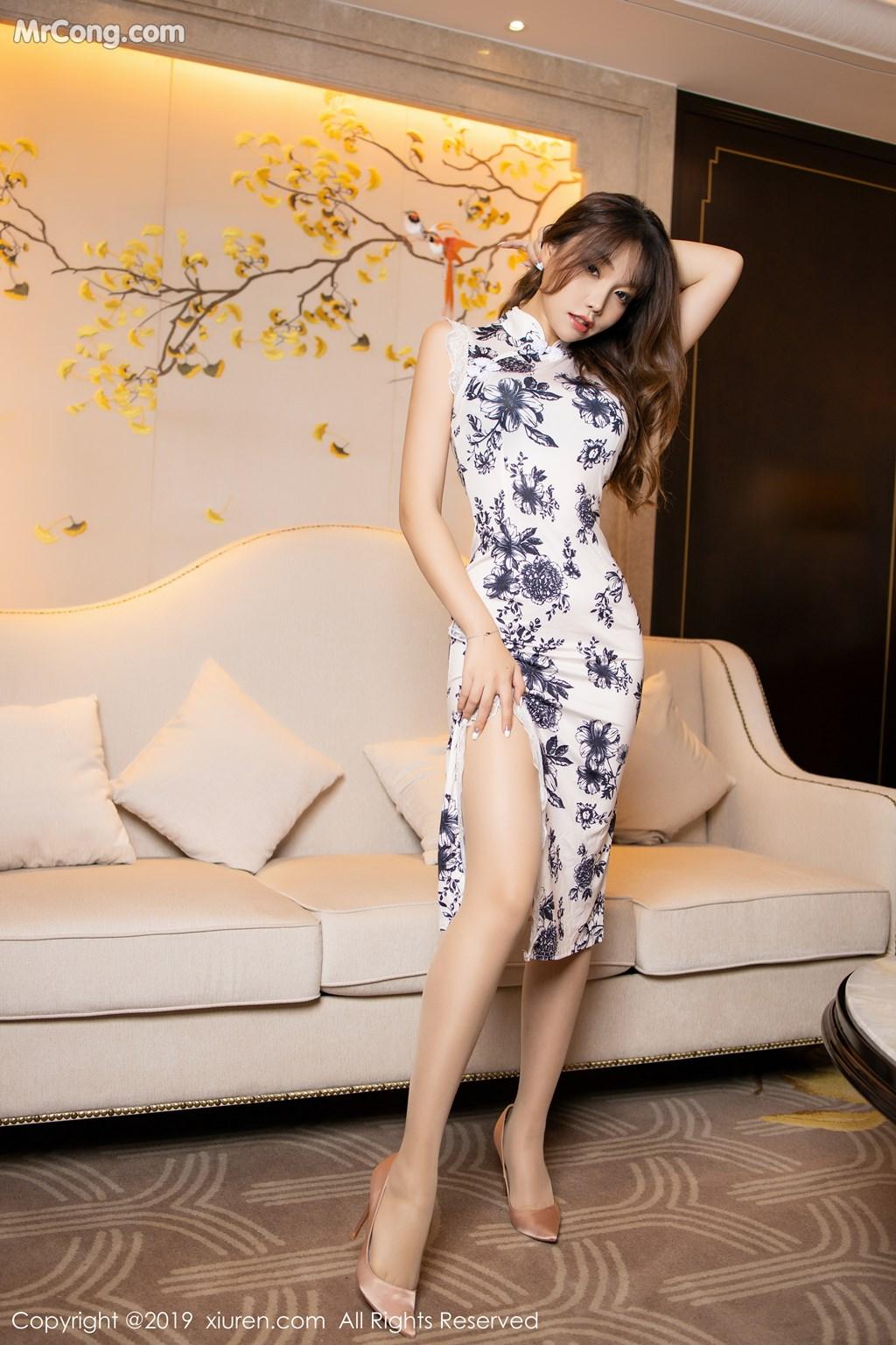 Image XIUREN-No.1622-Booty-Zhizhi-MrCong.com-001 in post XIUREN No.1622: Booty (芝芝) (65 ảnh)