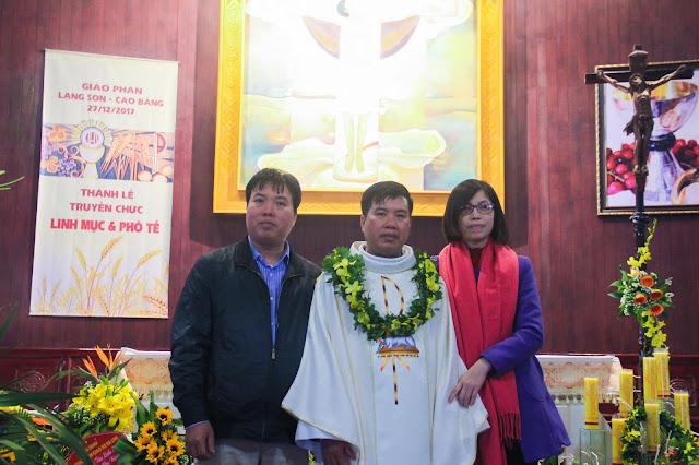 Lễ truyền chức Phó tế và Linh mục tại Giáo phận Lạng Sơn Cao Bằng 27.12.2017 - Ảnh minh hoạ 244