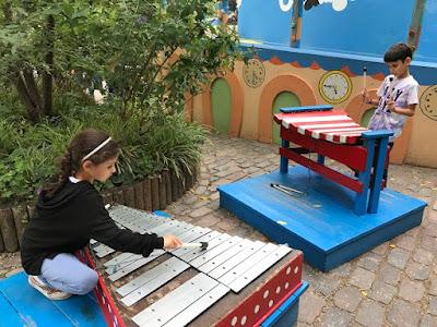 Playground at Tivoli Gardens, Copenhagen