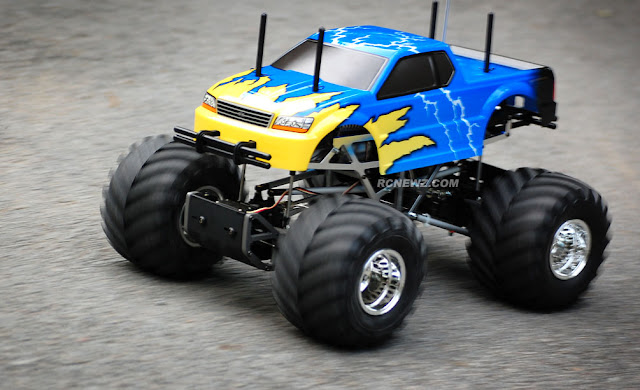 Tamiya TXT-1 action pictures