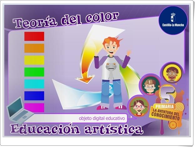 """""""Teoría del color"""" (Aplicación interactiva de Educación Artística de Primaria)"""