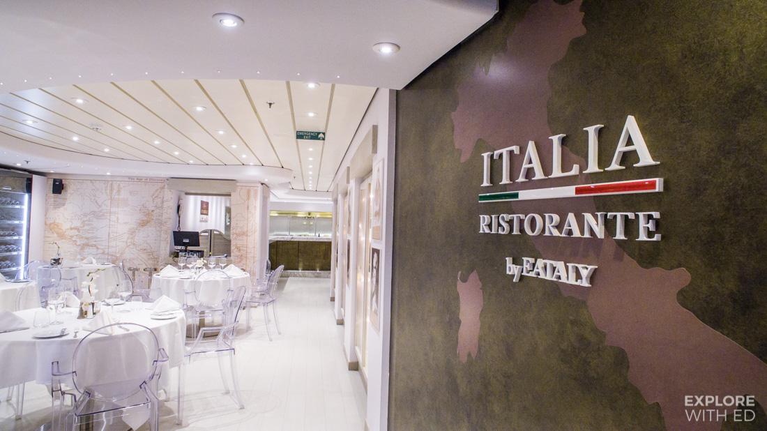 Italia Ristorante Eataly on MSC Preziosa