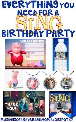 sing party theme