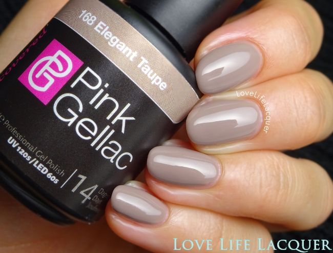 Pink Gellac Elegant Taupe Swatch Uncovered1