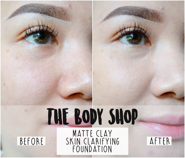 The Body Shop Clay Skin Clarifying Foundation