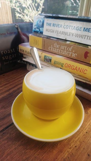 Proserpina, Sassafras, chai latte