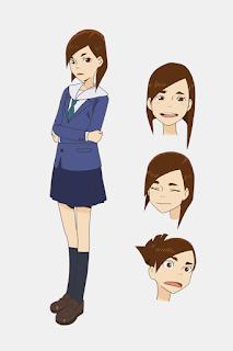 Tsubame Mizusaki. Voz por Misato Matsuoka.