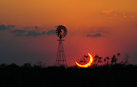 Solar Eclipse over Sundown