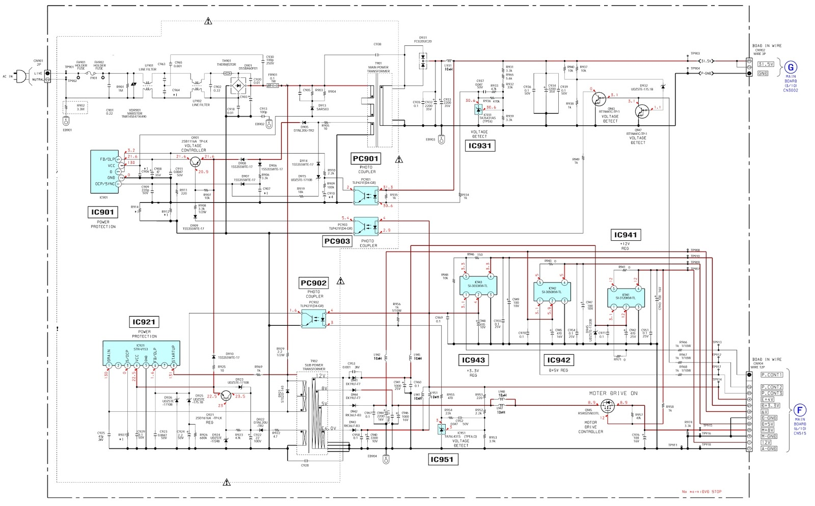 Circuit Diagram Of Home Theater Process Template Excel Sony System Dav Dz120k Power Supply Schematic Click On The To Zoom Ss At Top Browser Come Back
