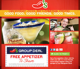 Chili's coupons december 2016