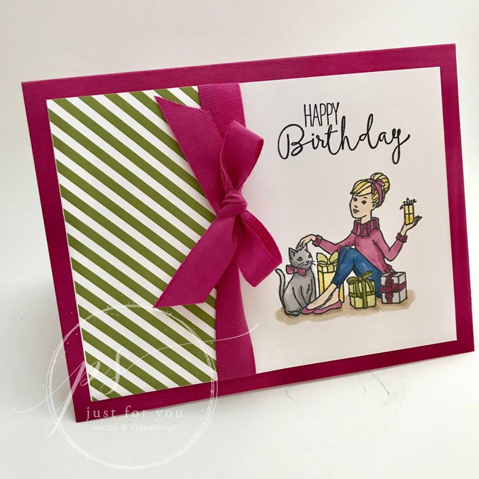 The Serene Stamper Christmas in the Making Birthday Card Tutorial – Making Birthday Card