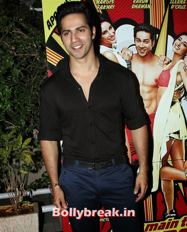 Varun Dhawan, Hottest at Main Tera Hero Success BASH