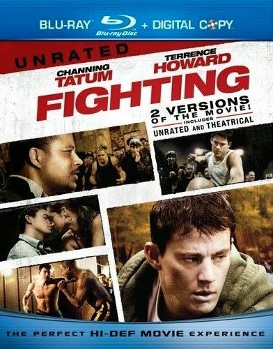 Poster Of Fighting 2009 Dual Audio 300MB BRRip 576p - Extended Cut Free Download Watch Online