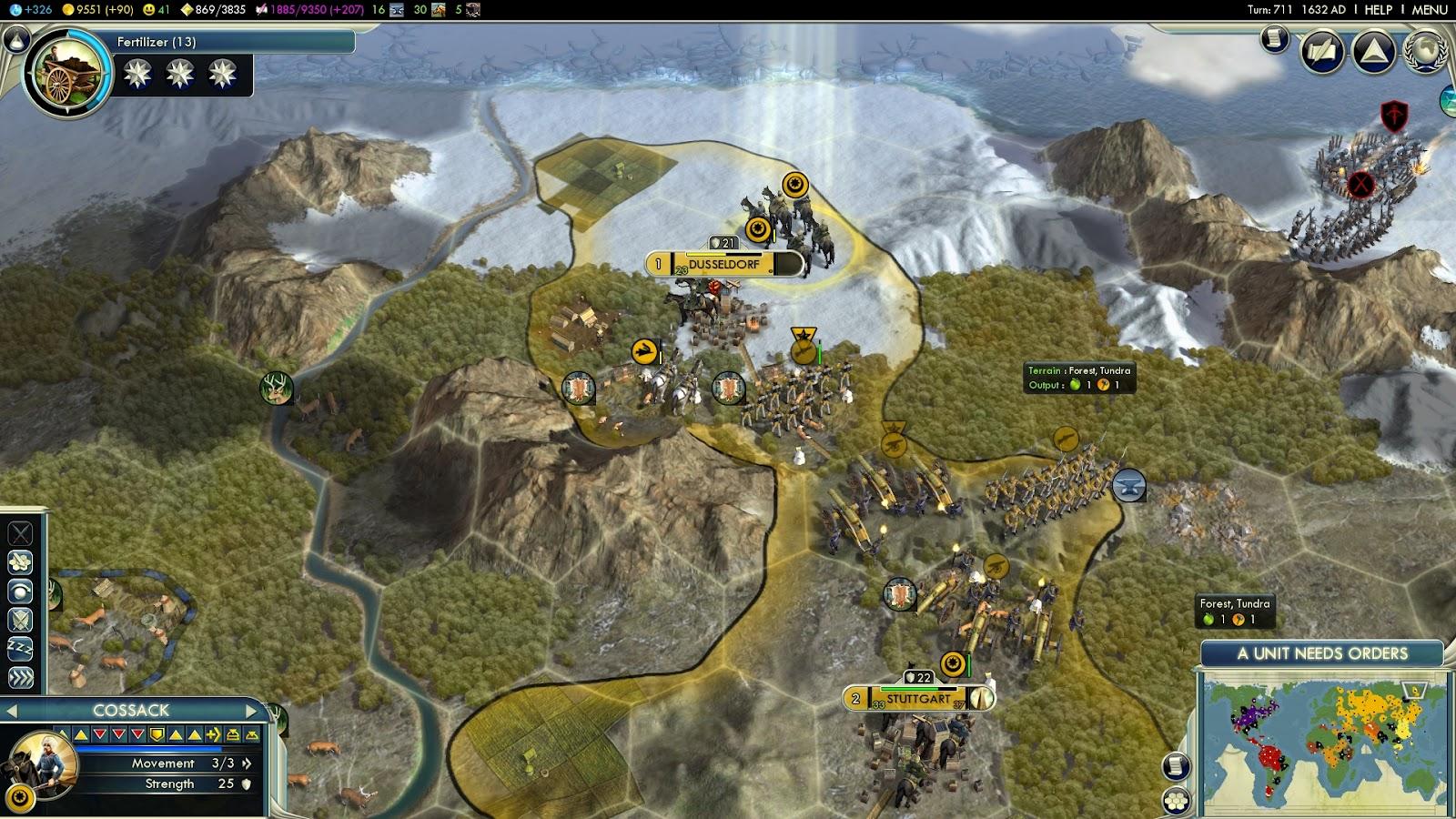 Civ5] Whatever happened to Bismarck? 1616-1640AD
