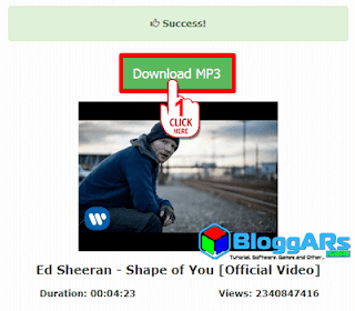 Download MP3 dari Youtube seperti Lagu Official