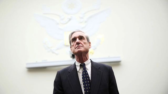 A report from Robert Mueller will most likely mark the end of the beginning not the beginning of the endCreditCreditSaul LoebAgence FrancePresse