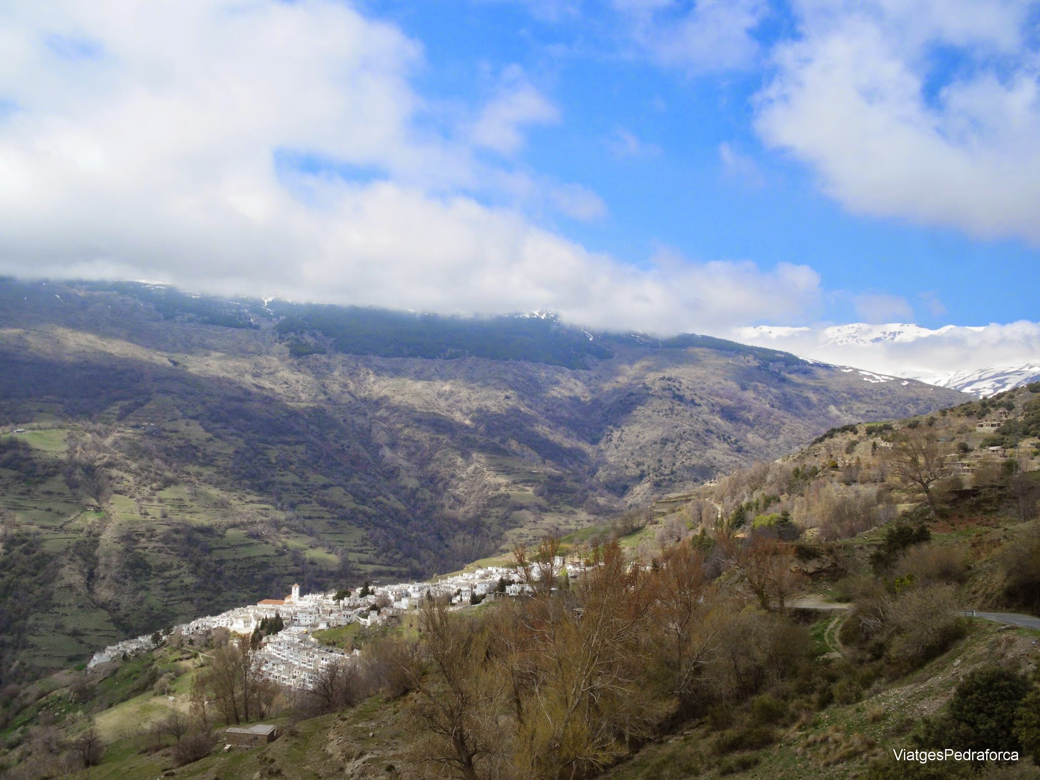 Pampaneira Alpujarra Granadina Andalucia Sierra Nevada