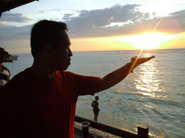 Sunset Ujung Genteng Diaryanakkampung.com