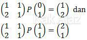 Persamaan matriks matematika dasar TKPA SBMPTN 2016 Kode 321