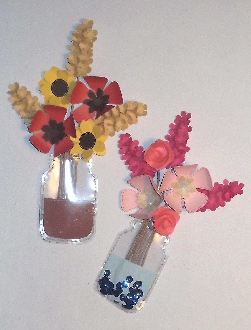 Cartoncino mio fiori in vaso di vetro tag for Fiori di cartoncino