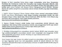 http://psbsekolah.kemdikbud.go.id/schils/app/ Alamat Website Aplikasi Perpustakaan Berbasis SLiMS