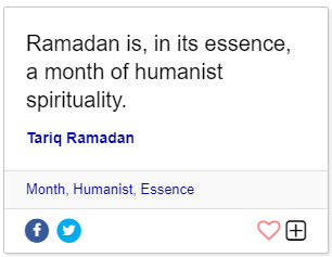Ramadan quotes brainy
