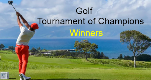 SBS-Hyundai Tournament of Champions Golf, PGA Tour, history, Champions, Winners, list.