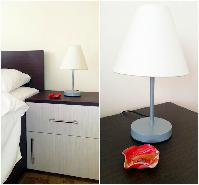 Minimalistička spavaća soba - prije